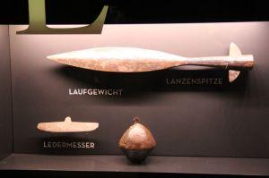 A spearhead. Museum of Haithabu